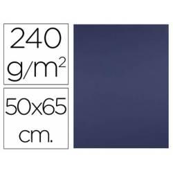Cartulina Liderpapel Azul Zafiro 50x65 cm 240 gr Paquete 25 unidades