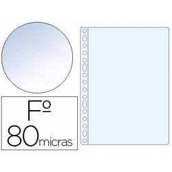 Funda Multitaladro Esselte Folio Cristal 16 taladros 80 MC