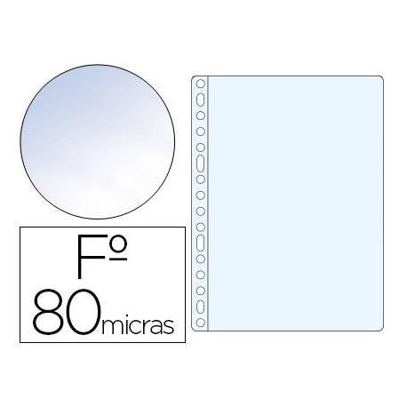 Funda Multitaladro Esselte Folio Cristal 16 taladros 80 MC
