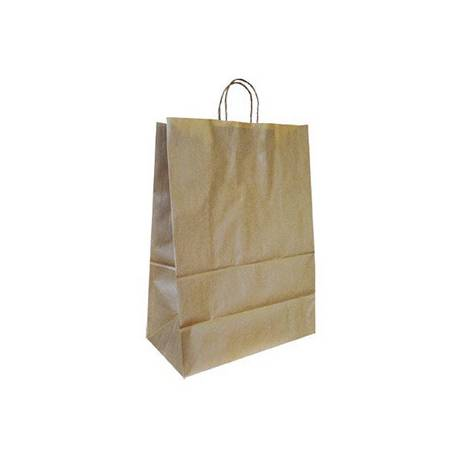 Bolsa Kraft Q-connect Natural 420x190x480 mm