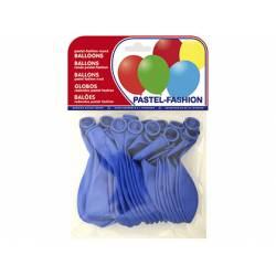 Globos Pastel Azul Medio Bolsa 20 unidades