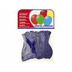 Globos Pastel Azul Marino Bolsa 20 unidades