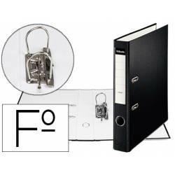 Archivador de Palanca Esselte Carton Forrado Folio Lomo de 50 mm Negro