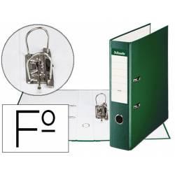 Archivador de Palanca Esselte Carton Forrado Folio Lomo de 75 mm Verde