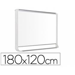 Pizarra Blanca Lacada Magnetica marco de aluminio 180x120 Bi-Office