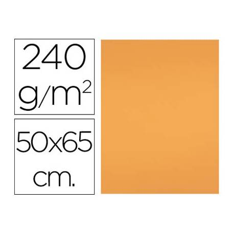 Cartulina Liderpapel 240 g/m2 color nectarina