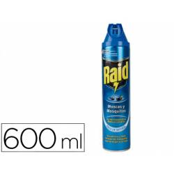 Insecticida Raid spray moscas y mosquitos