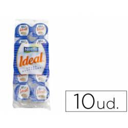 Leche evaporada Nestle 7,5 gramos envase de 10 unidades