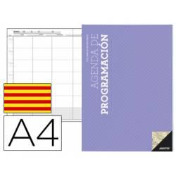 Agenda programación Additio mensual y semanal en catalan