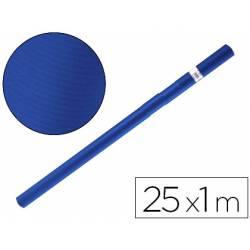 Bobina papel kraft Liderpapel 25 x 1 m azul azurita