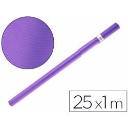 Bobina papel kraft Liderpapel 25 x 1 m violeta