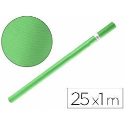 Bobina papel kraft Liderpapel 25 x 1 m verde