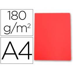 Subcarpeta cartulina Gio Din A4 rojo pastel 180 g/m2
