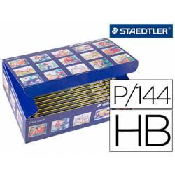 Lapices de grafito Staedtler Noris n.2 HB class pack