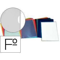 Funda dossier uñero Esselte Folio 110 micras transparente