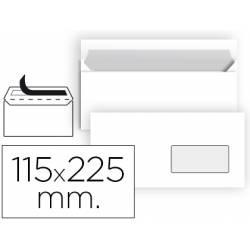 Sobre Americano Liderpapel N4 Blanco Caja 25