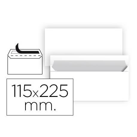 Sobre Americano Liderpapel N5 Blanco Caja 25