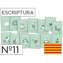 Cuaderno Rubio Escriptura nº 11 Mejorar la letra y ortografía Catalán