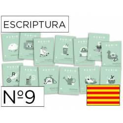 Cuaderno Rubio Escriptura nº 9 Mejorar la letra y ortografía Catalán