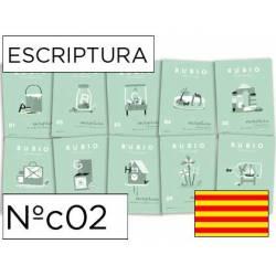 Cuaderno Rubio Escriptura nº 02 Vocales y números Catalán