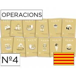 Cuaderno Rubio Operacions nº 4 Dividir por una cifra Catalán