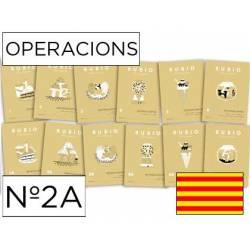 Cuaderno Rubio Operacions nº 2A Restar llevando Catalán