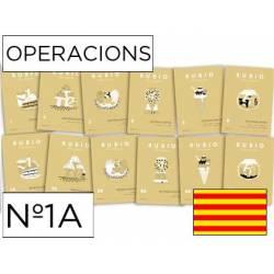 Cuaderno Rubio Operacions nº 1A Sumar llevando Catalán