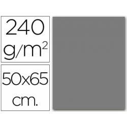 Cartulina Liderpapel color gris 240 g/m2