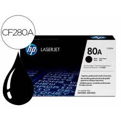 Toner HP 80A laserjet color negro CF280A