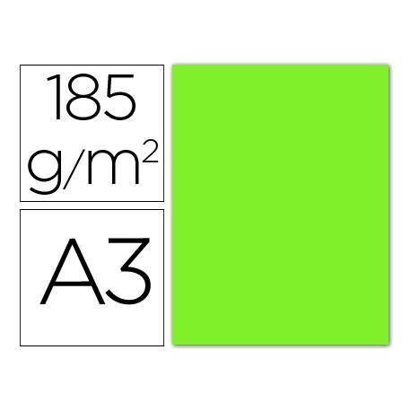 Cartulina Guarro verde fluorescente