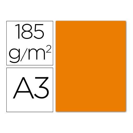 Cartulina Guarro naranja