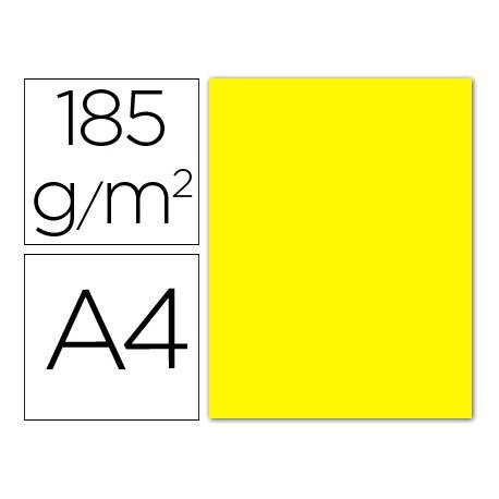 Cartulina Guarro amarillo canario