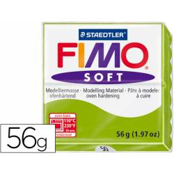 Pasta para modelar Staedtler Fimo soft Verde Manzana