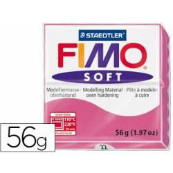 Pasta para modelar Staedtler Fimo Soft color frambuesa