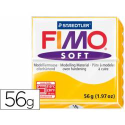 Pasta para modelar Staedtler Fimo Soft color amarillo