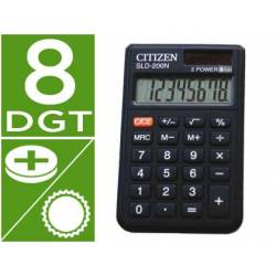 Calculadora bolsillo Citizen SLD-200-N 8 digitos