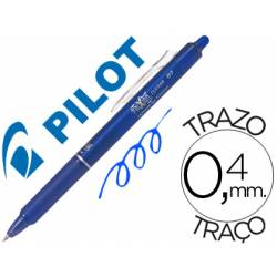 Boligrafo Borrable Pilot Frixion retractil 0,4 mm Color Azul