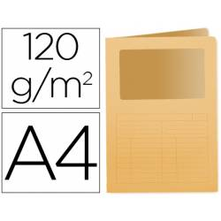 Subcarpeta cartulina Q-Connect Din A4 naranja