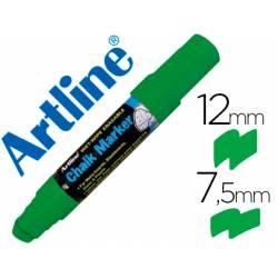 Rotulador Artline EPW-12 Marcador tipo tiza Verde
