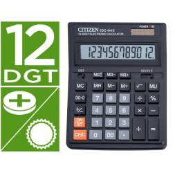 Calculadora sobremesa Citizen SDC-444S 12 digitos