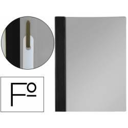Carpeta dossier fastener Esselte PVC rigido Folio negro