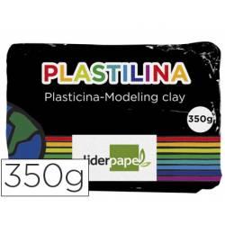 Plastilina Liderpapel negro grande