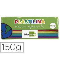 Plastilina Liderpapel verde claro mediana