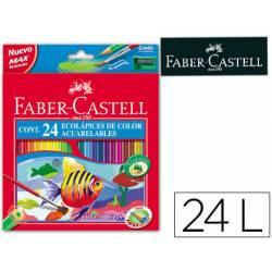 Lapices de colores Faber-Castell acuarelables