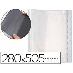 Forralibro PP ajustable adhesivo 280 x 505 mm