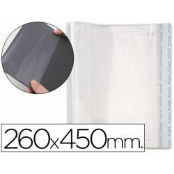 Forralibro PP ajustable adhesivo. Medida 260 x 450 mm.