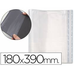 Forralibro PP ajustable adhesivo. Medida 180 x 390 mm