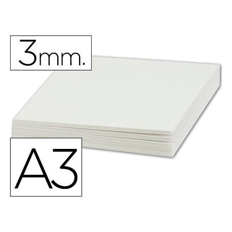 Carton pluma Liderpapel doble cara blanco Din A3