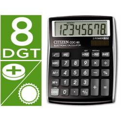 Calculadora sobremesa Citizen CDC-80 color negra
