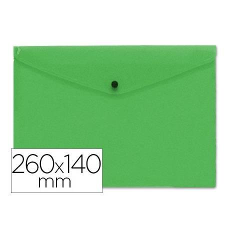 Carpeta tamaño sobre liderpapel broche verde